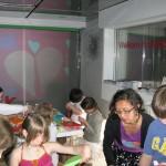 Kinderworkshop in de Bouwkeet, Stedelijk.